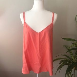 Anthropologie Coral Tank NWWT